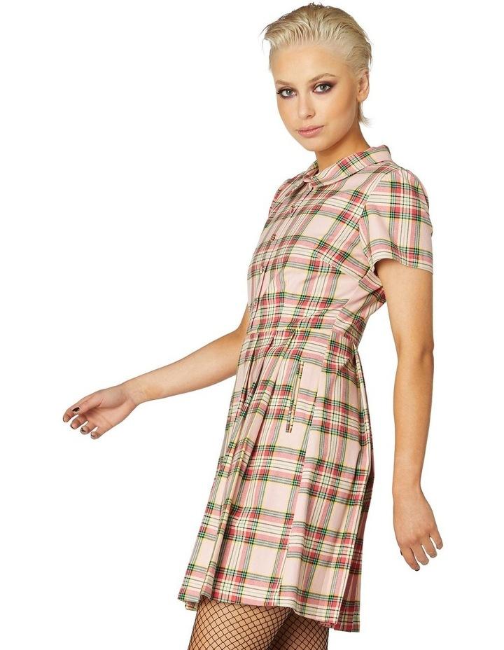 Spring Tartan Shirt Dress image 2