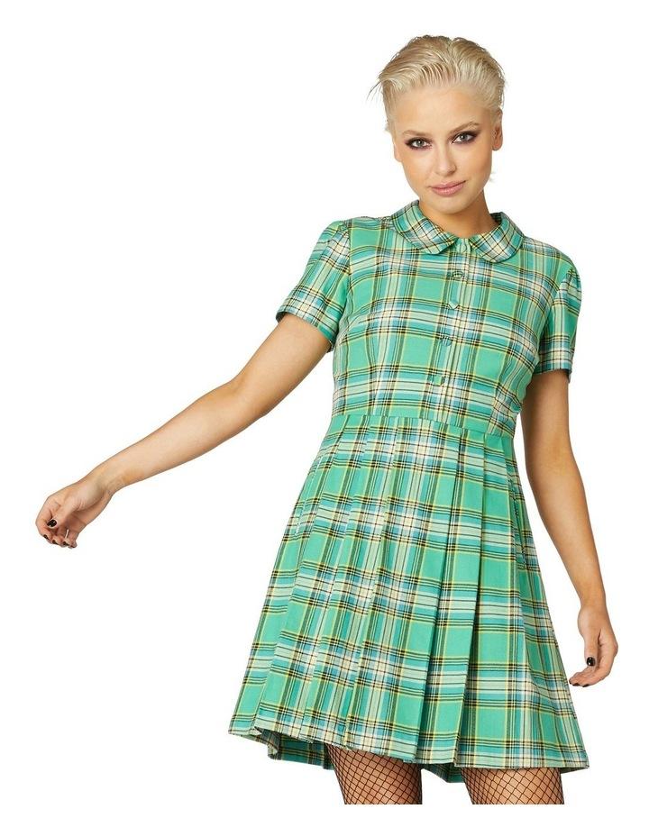 Spring Tartan Shirt Dress image 1