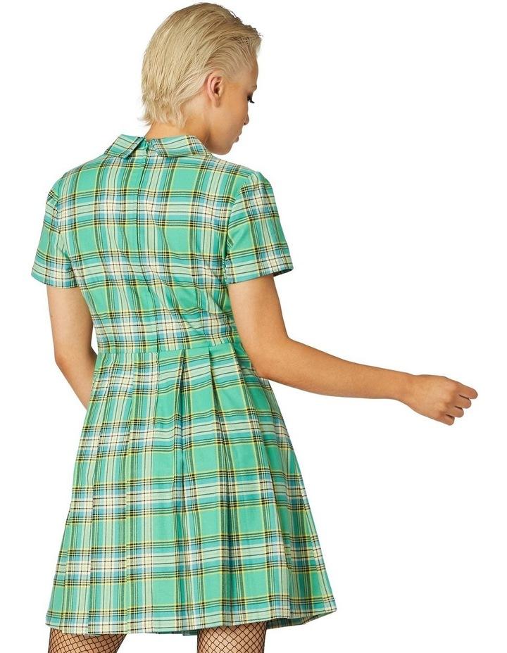 Spring Tartan Shirt Dress image 3