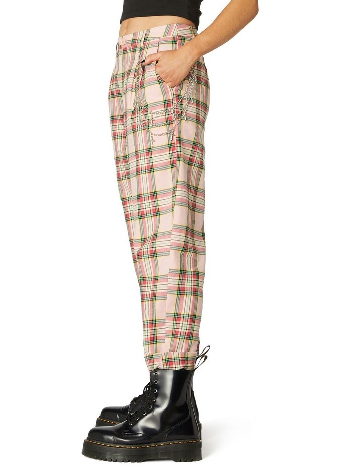 Spring Tartan Straight Pants image 2
