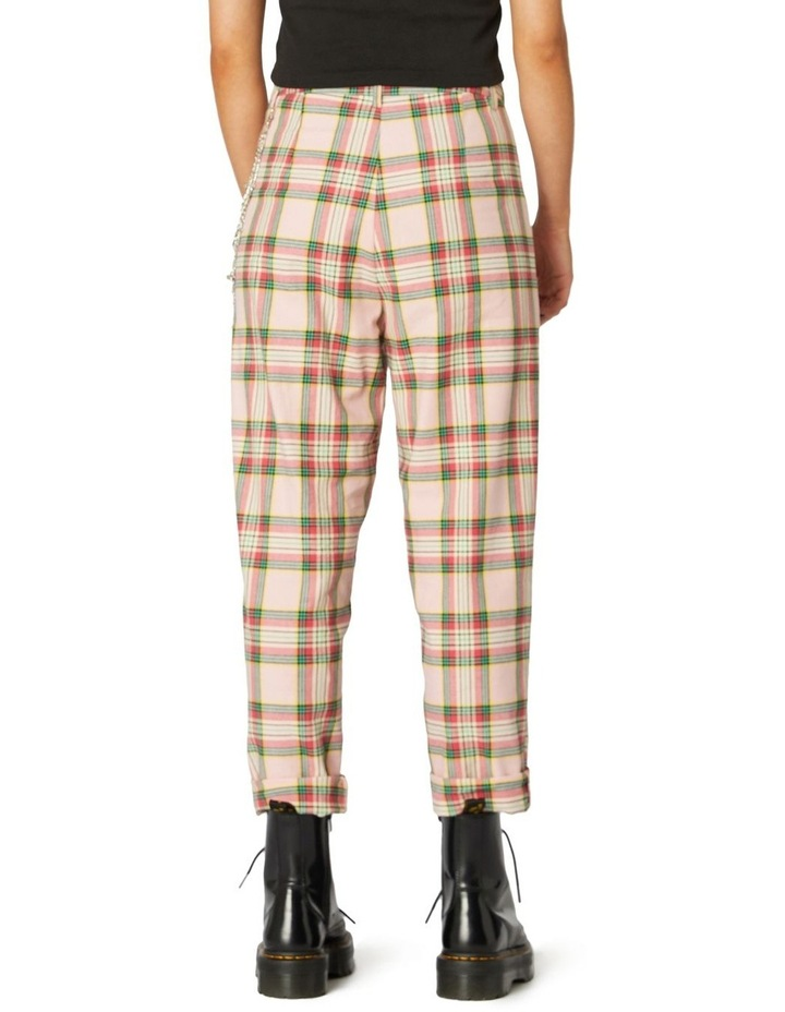 Spring Tartan Straight Pants image 3