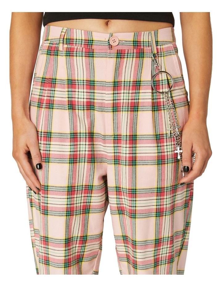 Spring Tartan Straight Pants image 4