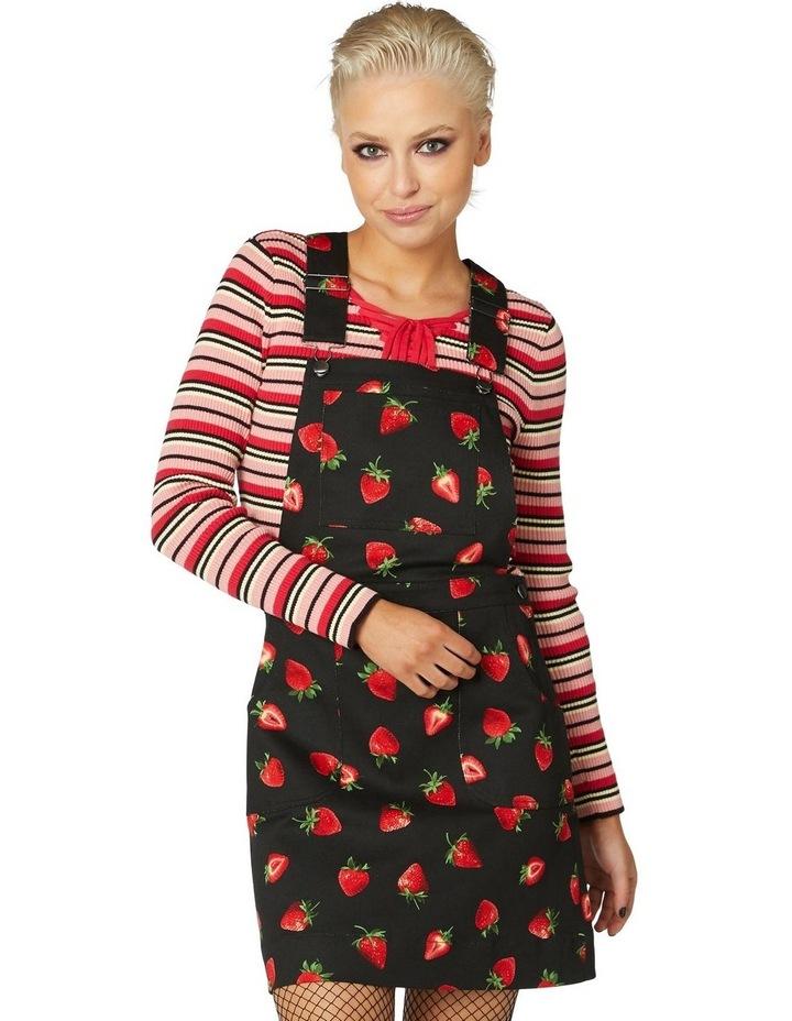 Strawberry Bib & Brace Pinny image 1