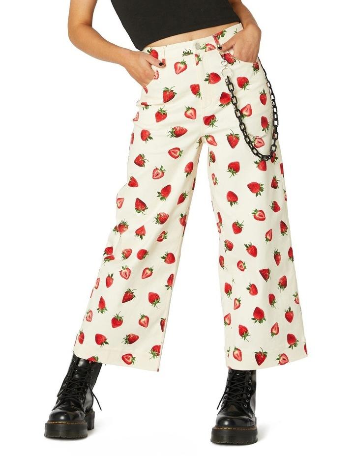 Strawberry Drill Pants image 1
