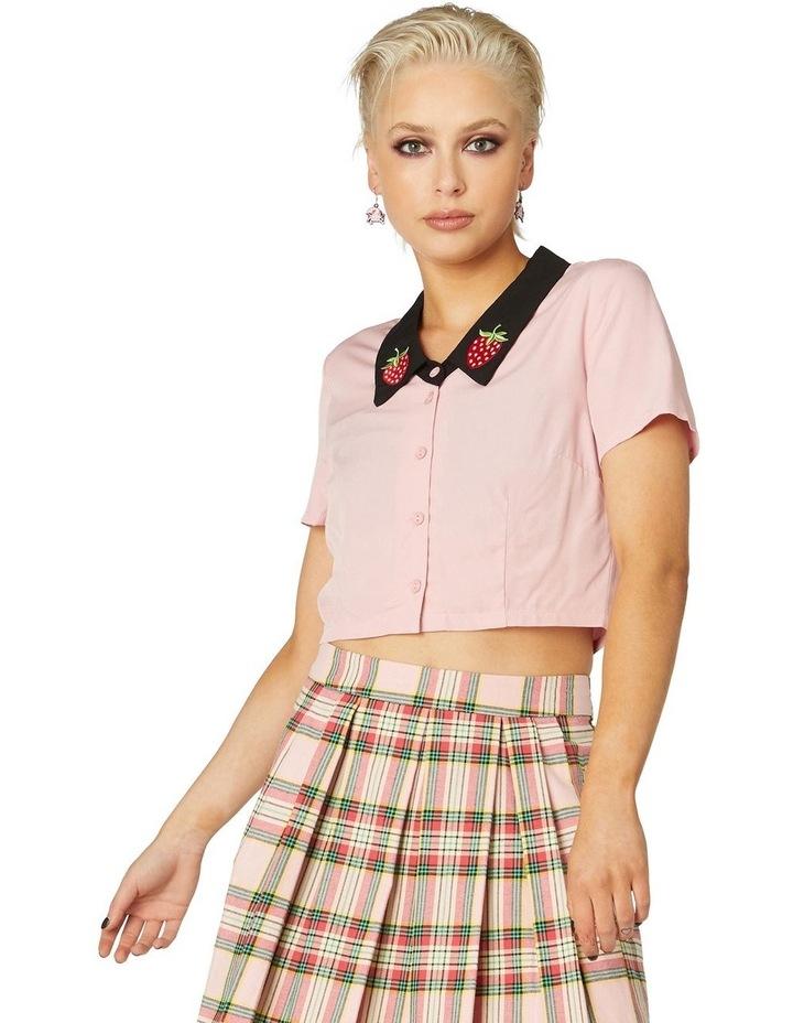 Strawberry Collar Blouse image 1