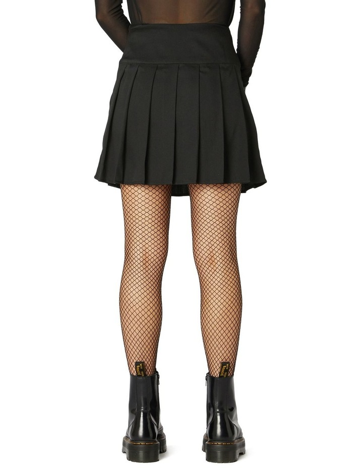 Punk Chain Pleated Skirt image 3