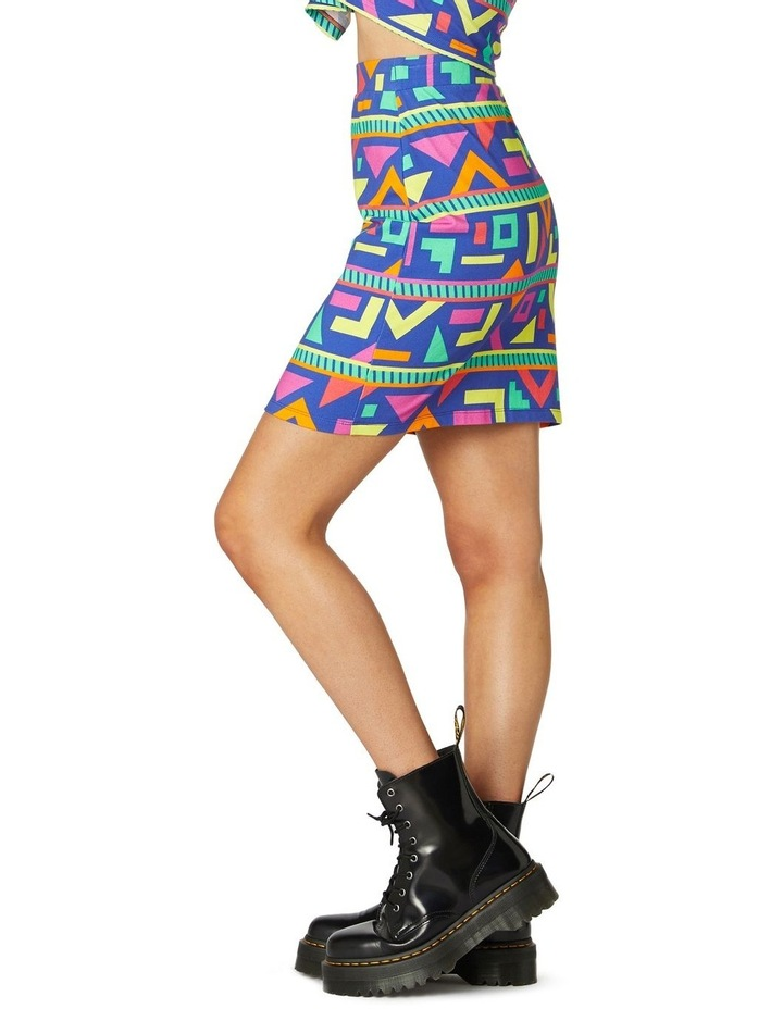 Crazy Geo Mini Skirt image 2