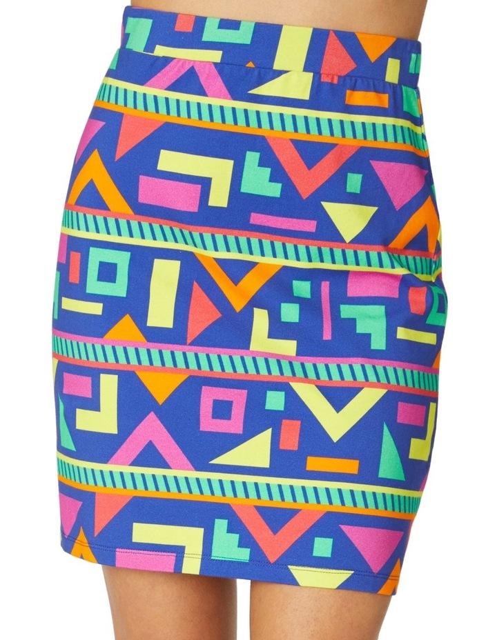 Crazy Geo Mini Skirt image 4