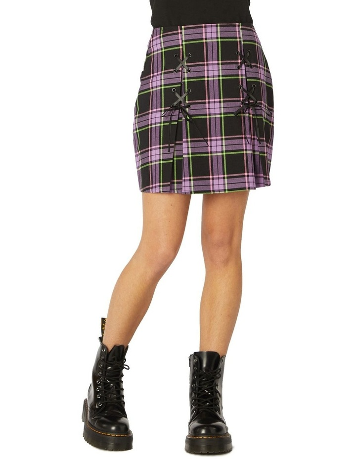 Bright Tartan Skirt image 1