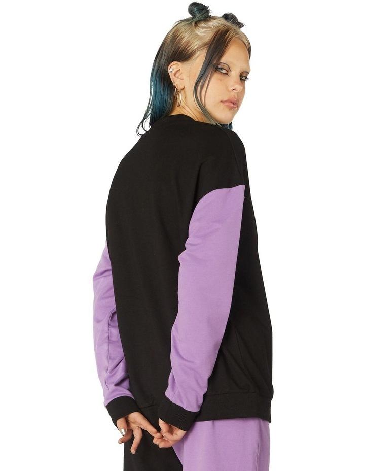 Colour Block Print Sweater image 3