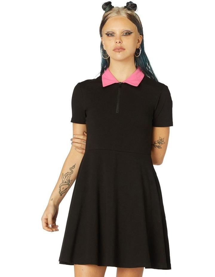 Contrast Collar Dress image 1