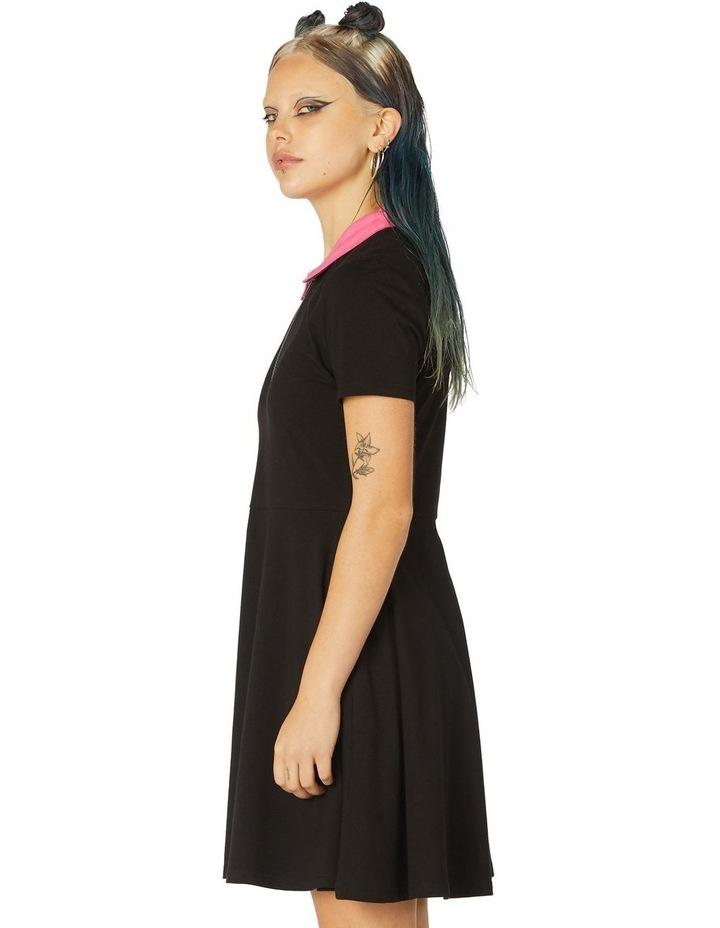 Contrast Collar Dress image 2