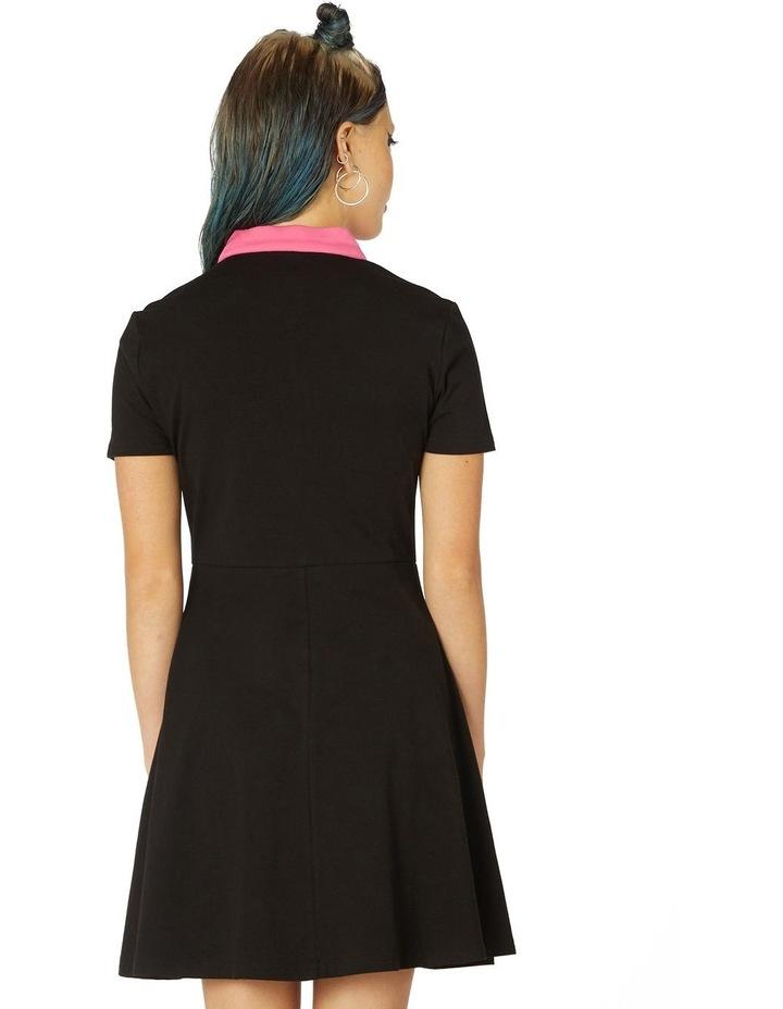 Contrast Collar Dress image 3