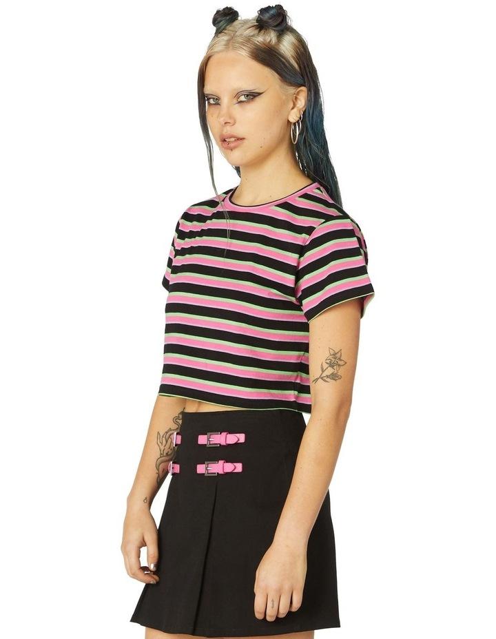 Neon Stripe Tee image 2