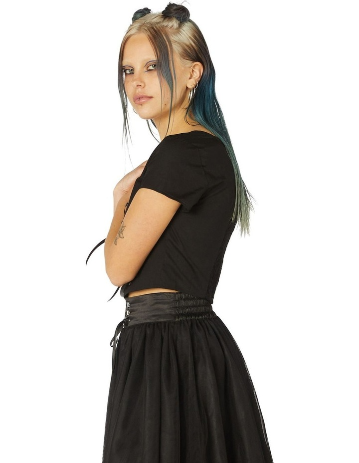 Gothic Corset Blouse image 2