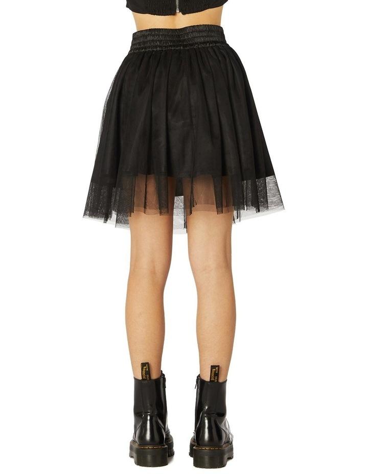 Mesh Tutu Punk Skirt image 3