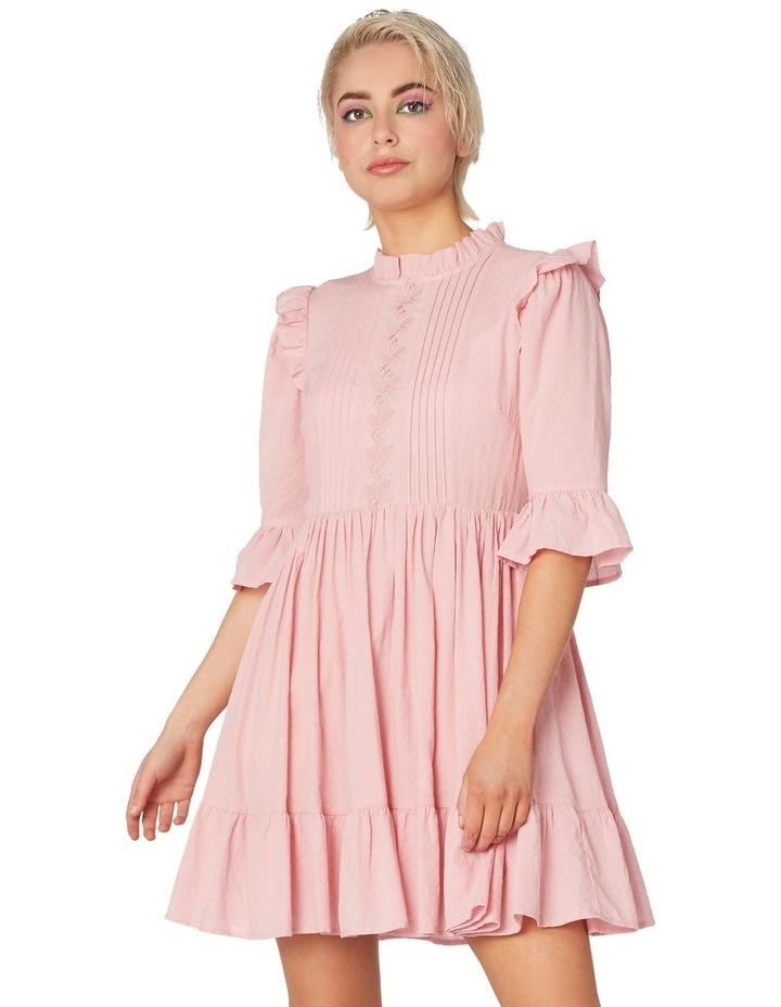 Prairie Frill Cotton Dress image 1