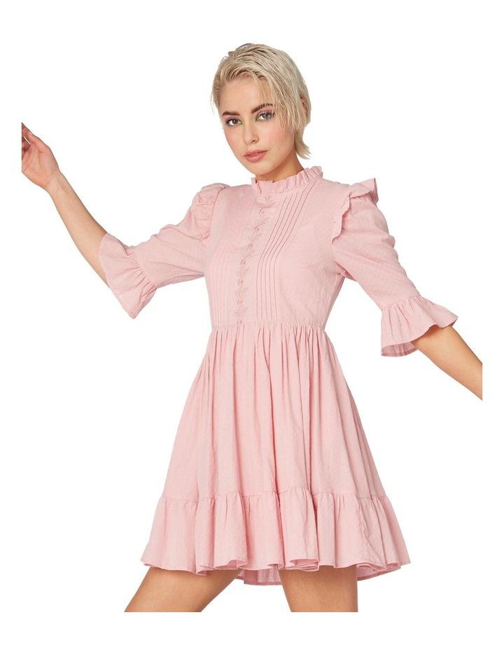 Prairie Frill Cotton Dress image 2