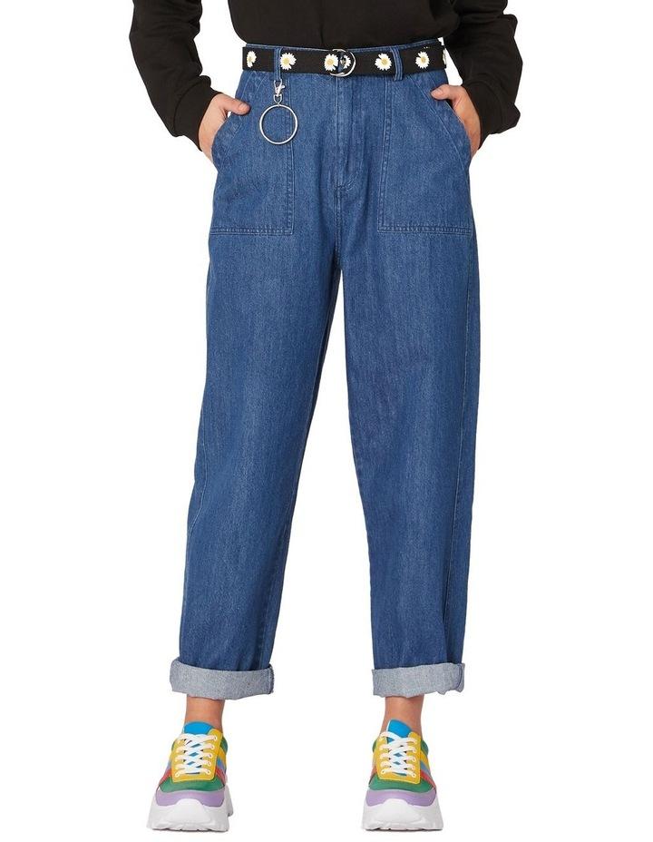 Classic Straight Denim Pants Blue image 1