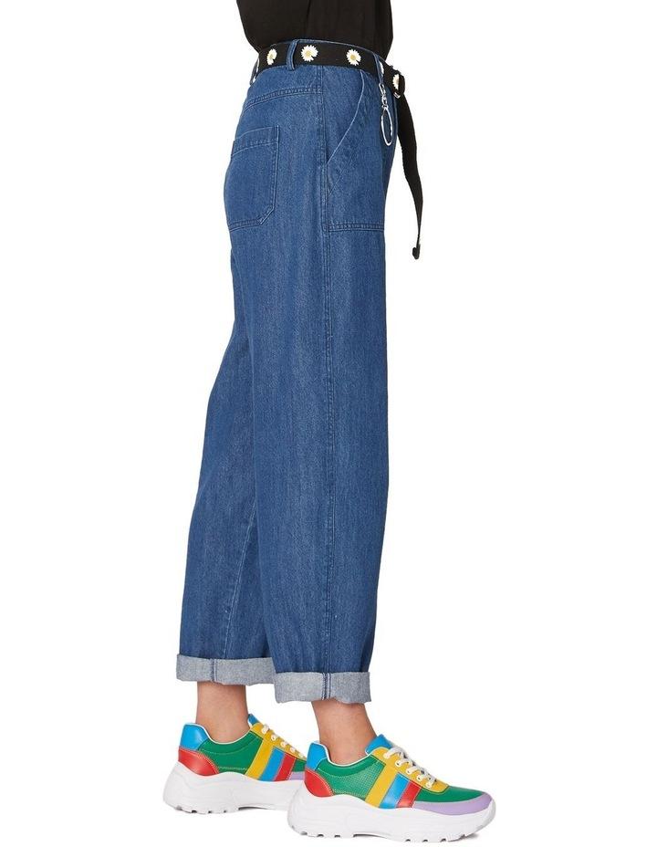 Classic Straight Denim Pants Blue image 2
