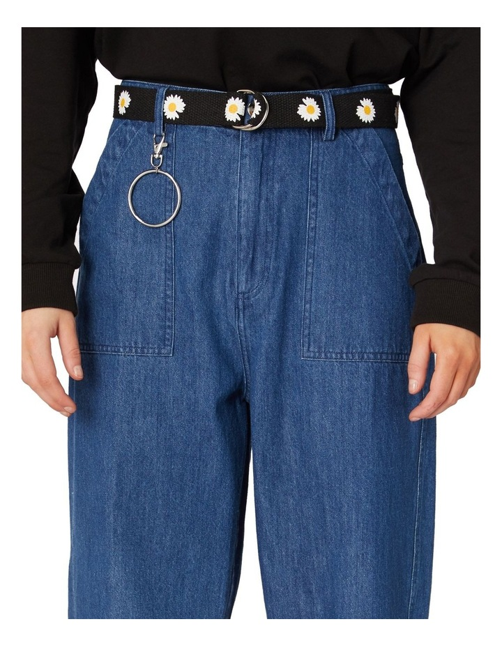 Classic Straight Denim Pants Blue image 4