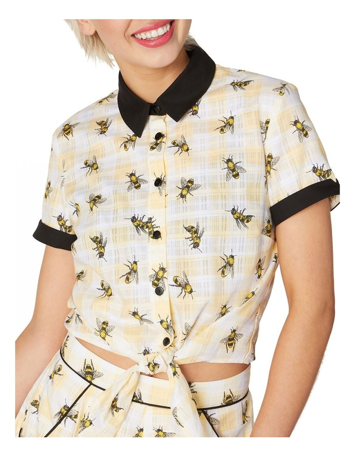 Bee Tie Up Blouse image 1