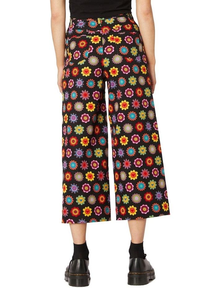 Daisy Cotton Drill Pants Black image 3