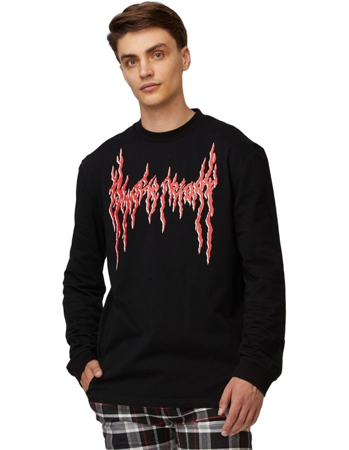 Scratch That Long Sleeve Tee image 1