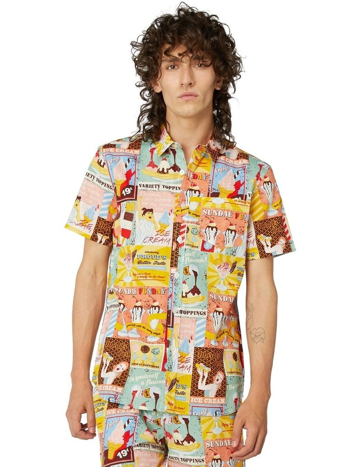 I Scream For Ice Cream Short Sleeve Shirt image 1