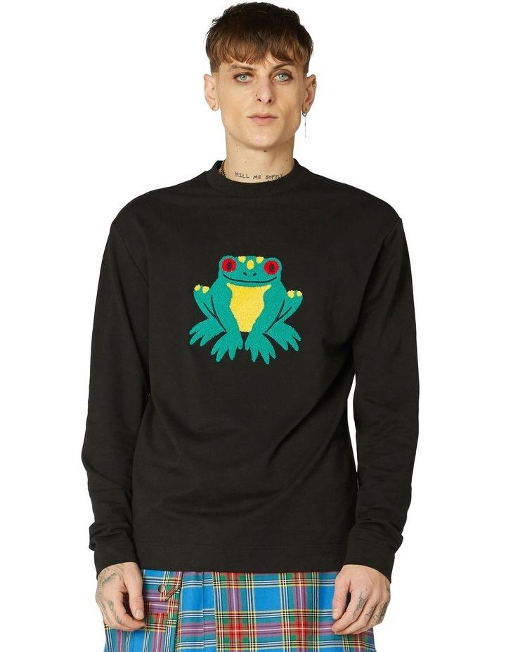Frog Unisex Cotton Sweater image 1