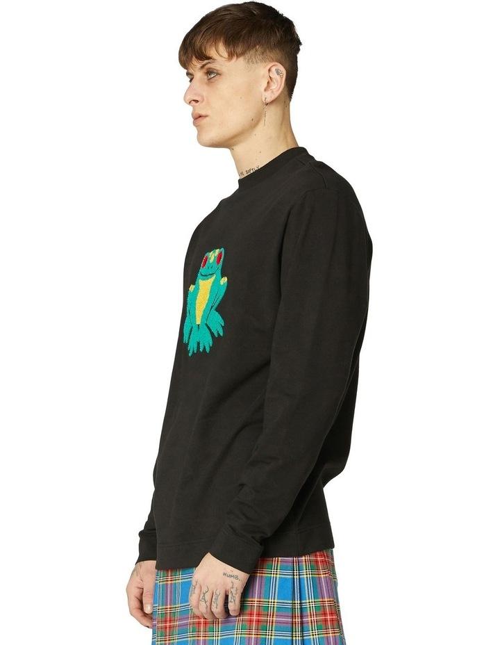 Frog Unisex Cotton Sweater image 2