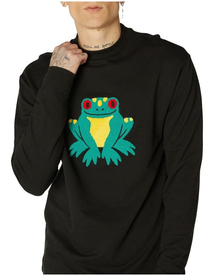 Frog Unisex Cotton Sweater image 4