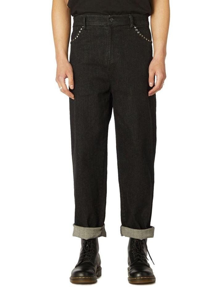 Punk Stud Denim Jeans image 1