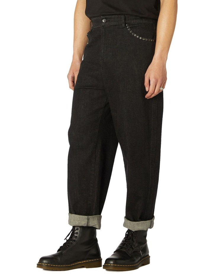 Punk Stud Denim Jeans image 2