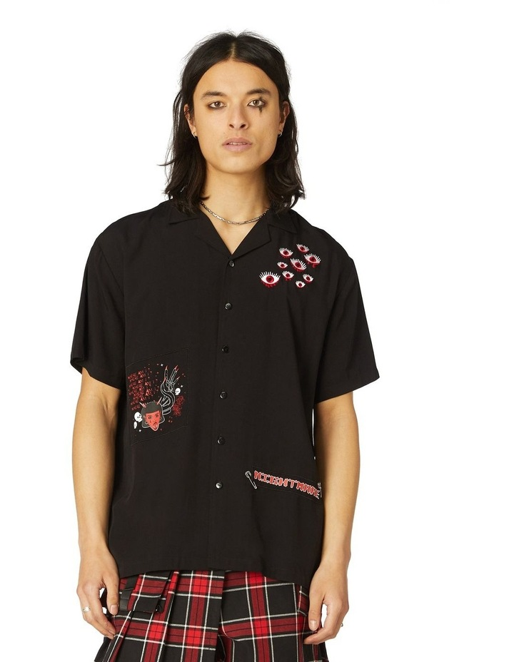 Goth Patch SS Shirt image 1