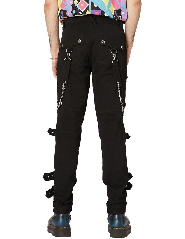 Punk Morpho Unisex Skinny Pants Black image 3