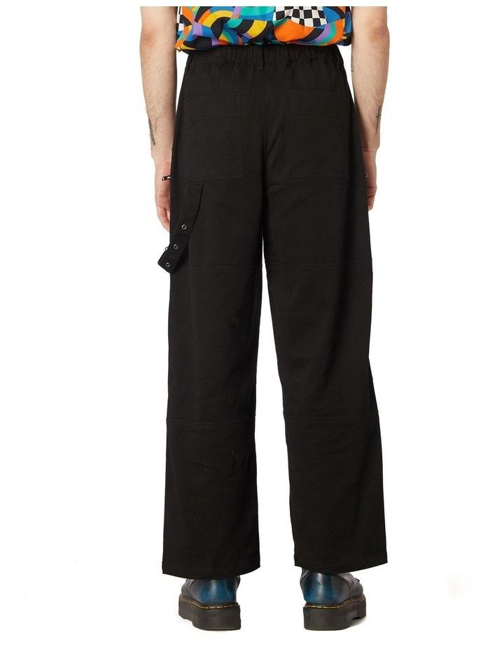 Ace Unisex Drill Pants Black image 3