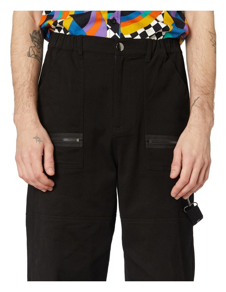 Ace Unisex Drill Pants Black image 4