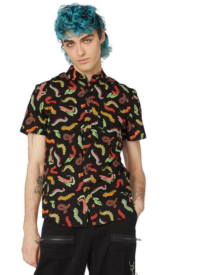 Caterpillar Short Sleeve Shirt Black image 1