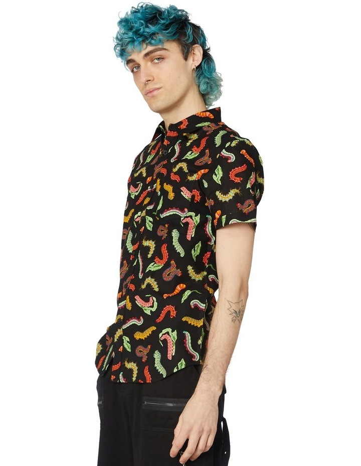 Caterpillar Short Sleeve Shirt Black image 2