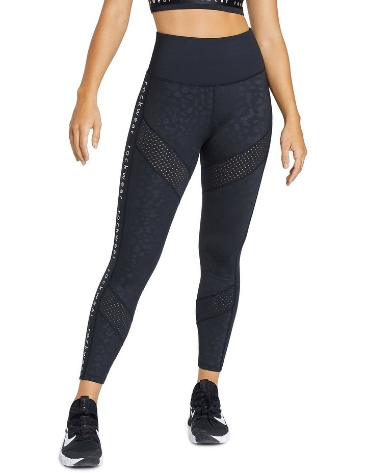Just Peachy Ankle Grazer Perforated Logo Tight image 1