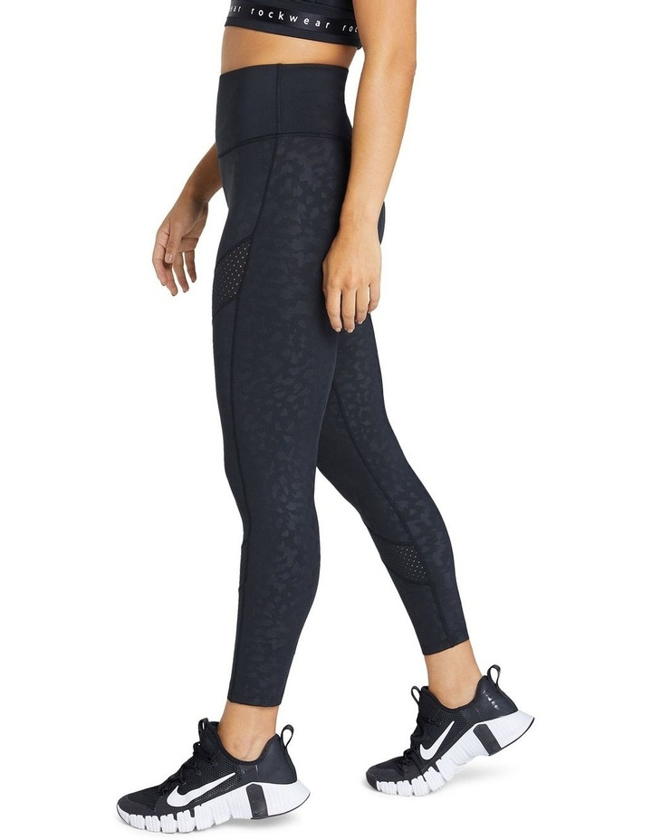 Just Peachy Ankle Grazer Perforated Logo Tight image 2