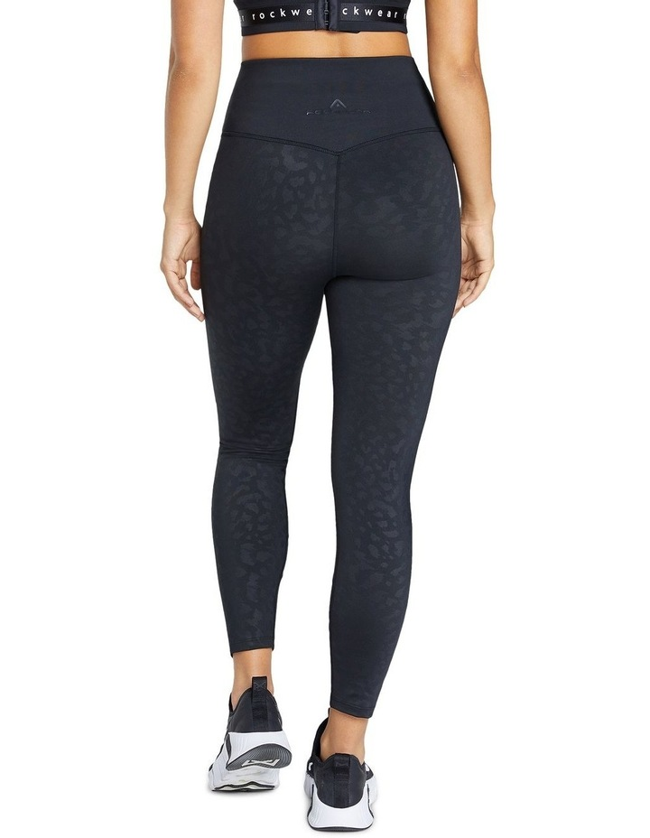 Just Peachy Ankle Grazer Perforated Logo Tight image 3