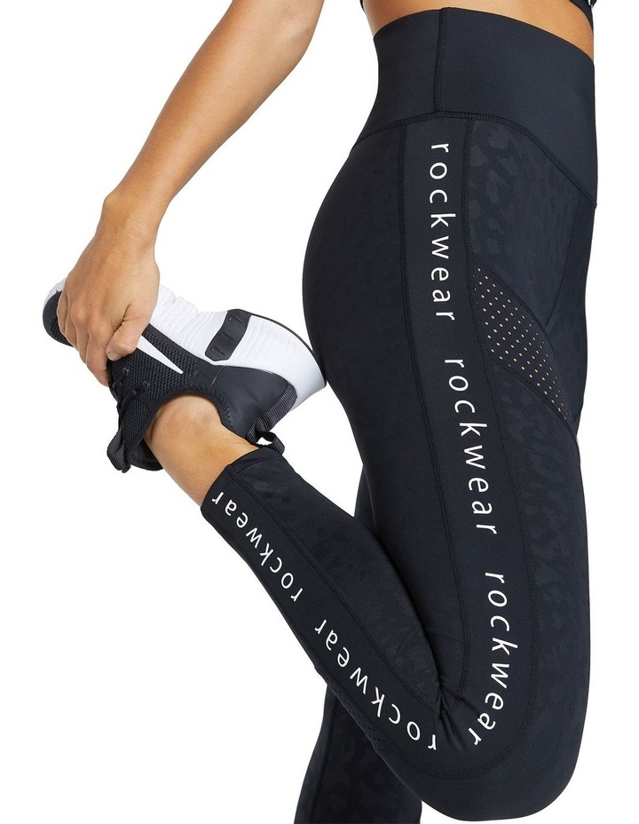 Just Peachy Ankle Grazer Perforated Logo Tight image 4