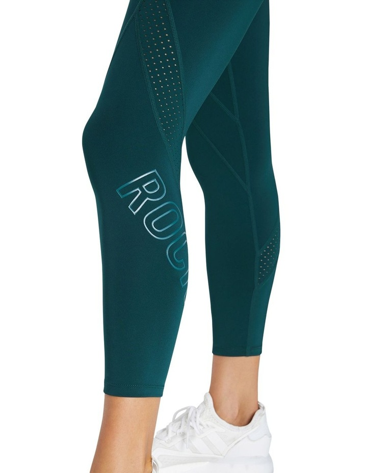 Perforated Logo Ankle Grazer Tights image 4
