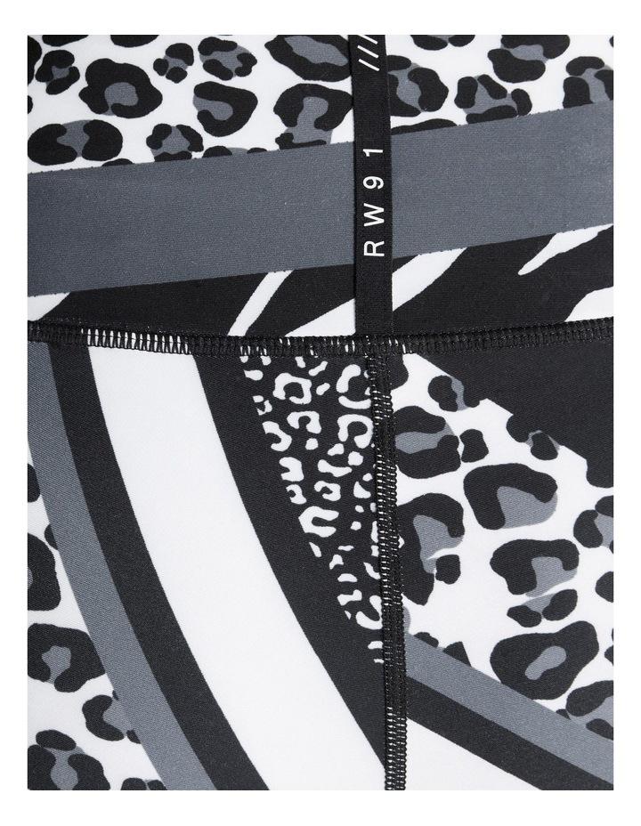 Monochromatic Blocked Ankle Grazer Tights image 5