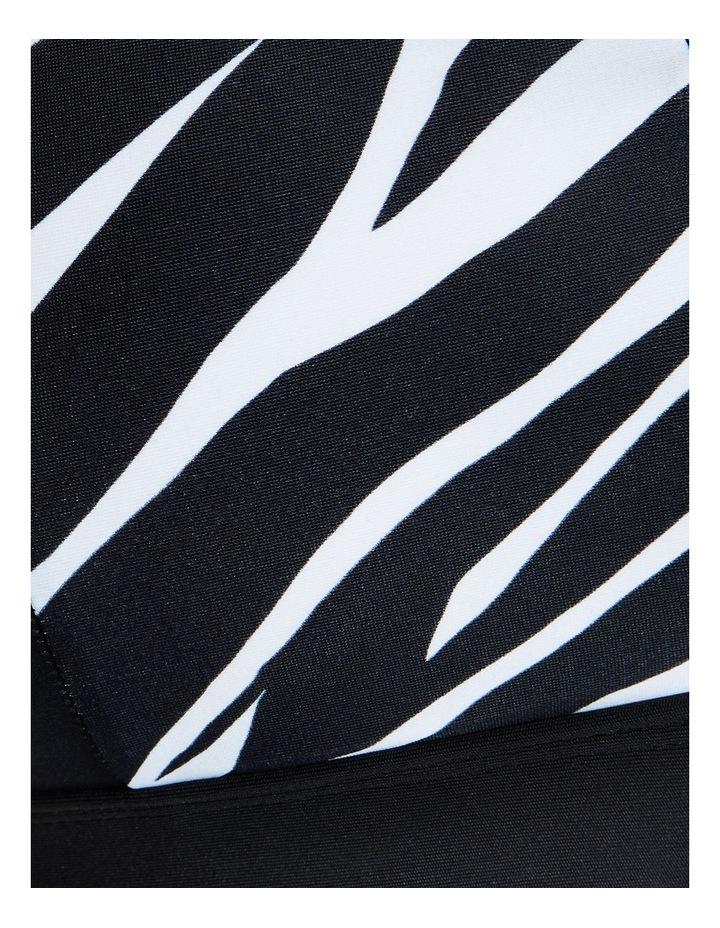 Monochromatic Zip Medium Impact Sports Bra image 5