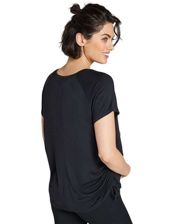 Maternity Ruched Casual Tee image 3