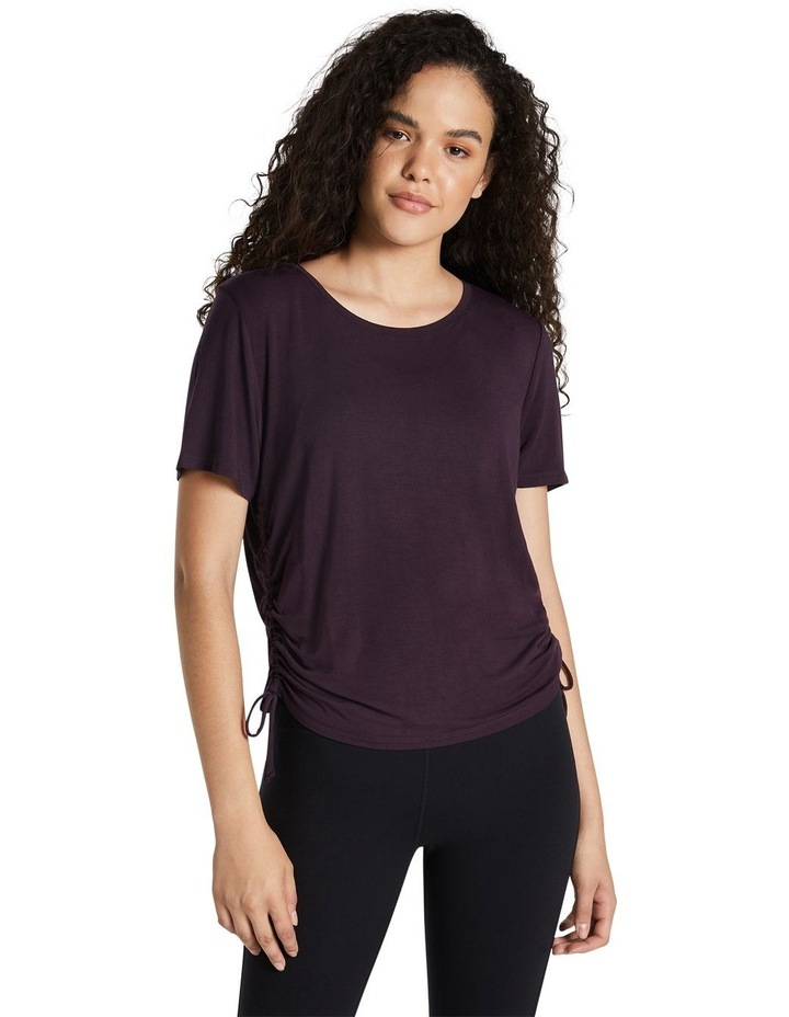Magnolia Ruched Side Tee image 1