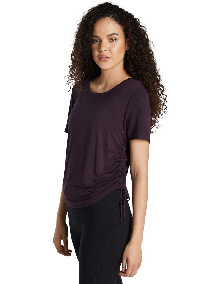 Magnolia Ruched Side Tee image 2